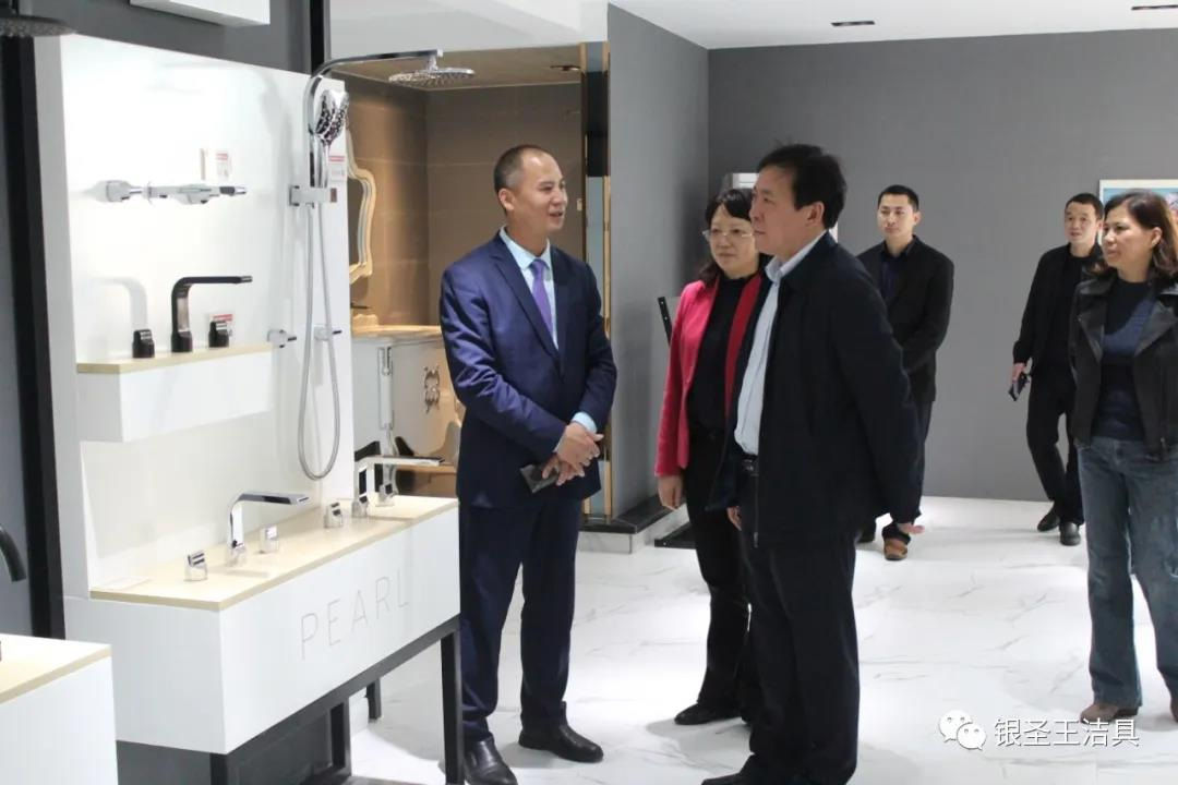 Vice mayor Li Maorong visited Yinshengwang factory